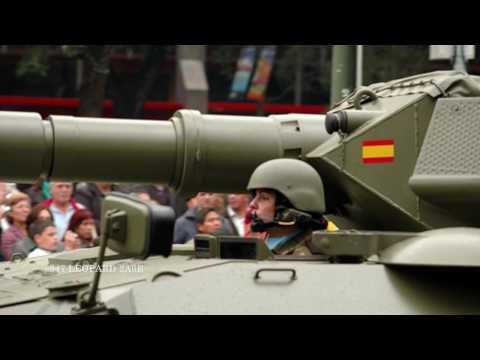 Tanques De Combate Leopard 2 Y Pizarro Del Ejercito 2011