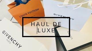 HAUL luxe SPRING 2018 // BALENCIAGA//GUCCI//LOUISVUITTON//GIVENCHY