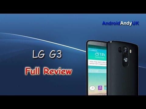 LG G3 Mobile Phone Full Review