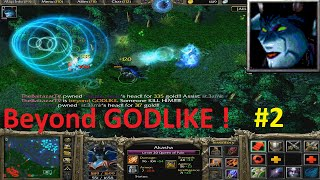 DotA 6.83d - Akasha, Queen of Pain Beyond GODLIKE ! #2