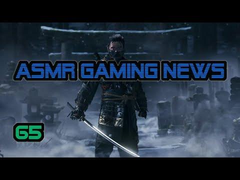 ASMR Gaming News (65) Paris Games Week 2017 PS4 Games, Last of Us 2, Nintendo, Mario, Switch + More!