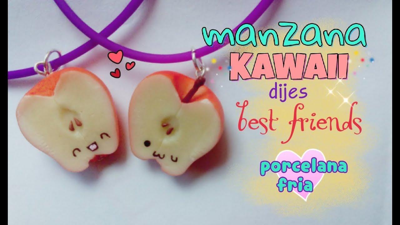 Dijes De La Amistad Best Friends Manzanita Kawaii