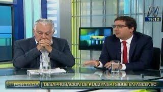 N Portada 13/01 Agustín Figueroa y Erick Sablich: desaprobación de PPK
