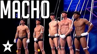 Puppet Strippers Come To Life on Hollands Got Talent | Got Talent Global