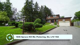 1846 Spruce Hill Rd. Pickering, On. L1V 1S4 / HD / Virtual Tour