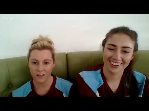 Interview with Hearts Ladies Club Captain Megan Paterson and And Striker Ashley Carse