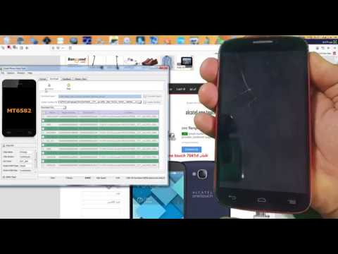 ALCATEL ONE TOUCH 7041D تفليش