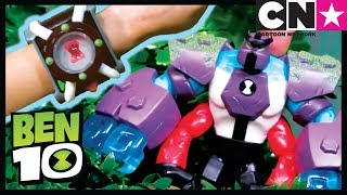 Ben 10 Toy Play For Kids | OMNI-ENHANCED FOUR ARMS Powers Up | Ben 10 Toys | Cartoon Network