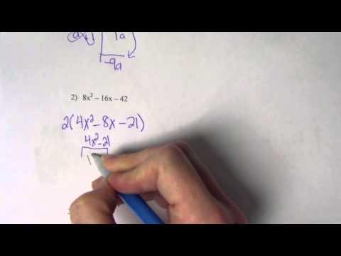 Factoring Flow Chartv Youtube