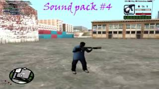 4 Sound Packs (Deagle,Shotgun,M4,Sniper)