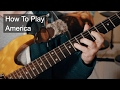 watch he video of 'America' Prince Guitar Lesson