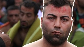 Vluchtelingensituatie in Griekenland! 1/2 #SERIEUS