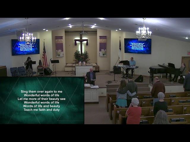 Calvary Baptist Church Sunday, 2. may, 2021