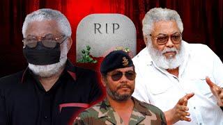 Former President J.J Rawlings Is Dead 😢😩