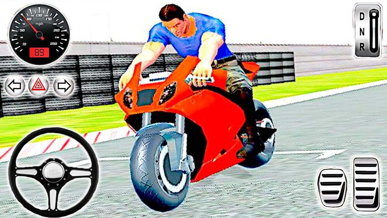 Motorbike in Traffic Rider Bike games Racing Android gameplay