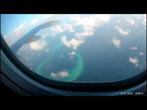 Flight FZ 559/// over indian ocean to sri lanka///