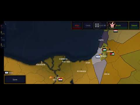 I liberated Palestine as Egypt in Age Of Civillization 2  