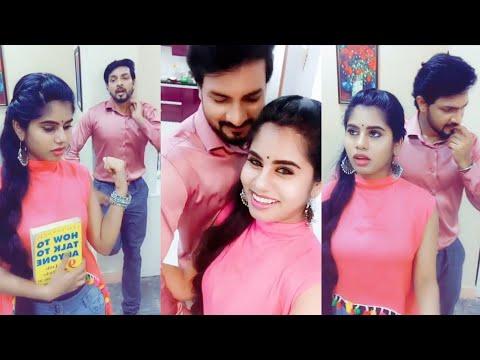 Aranmanai kili Serial Hero Arjun Heroine Dance Videos Dubmash Collections