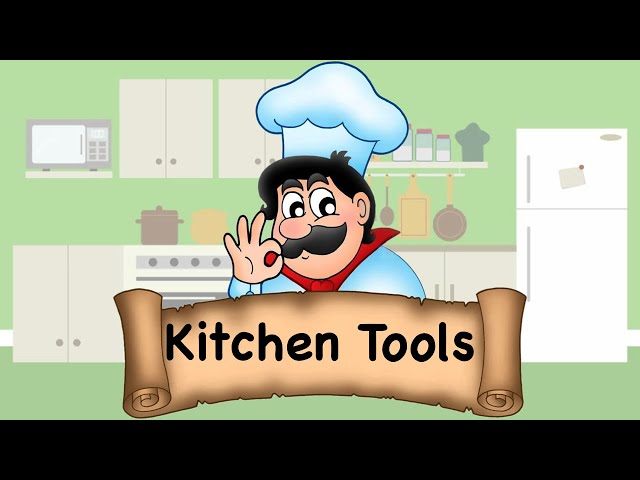 Kitchen Vocabulary || List of Kitchen Tools with Pictures in English || Kitchen Tools Vocabulary