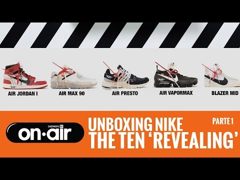 SBROnAIR Vol. 36 - Unboxing Nike The Ten 'Revealing' - #piranomeuair