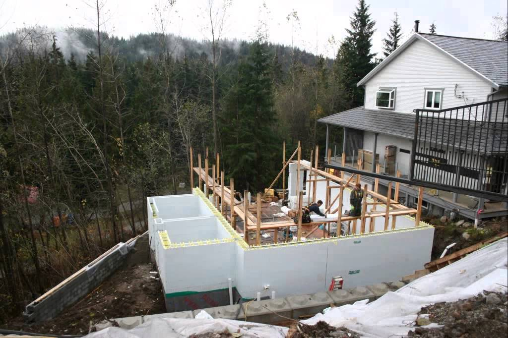 Icf pool house timelapse youtube for Icf pool