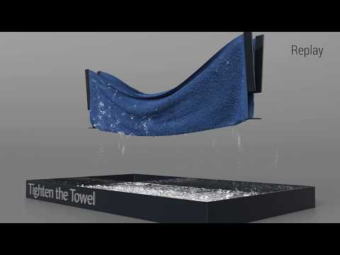 [SIGGRAPH 2018] A Multi-Scale Model for Simulating Liquid-Fabric Interactions