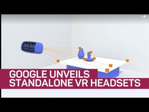 Google unveils standalone VR headsets