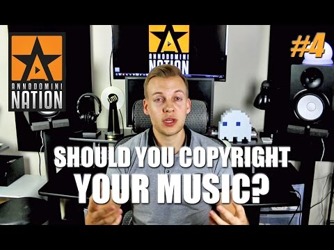 Should you copyright your music? | #AskAD 4
