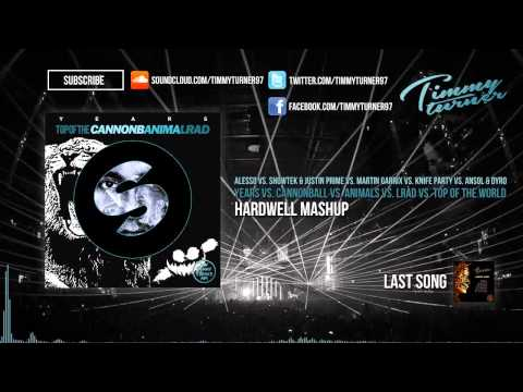 Years vs. Cannonball vs. Animals vs. LRAD vs. Top Of The World (Hardwell Mashup)
