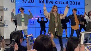 3/20 lol live circuit 2019  @ららぽーとTokyobay trigger