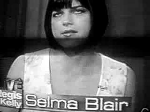 Selma Blair on Regis and Kelly