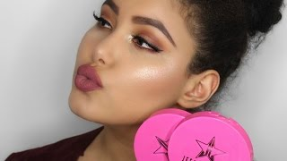 jeffree star skin frost review   all hype