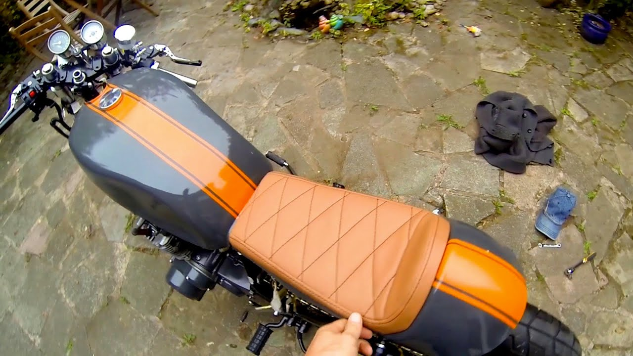 Fit A Cafe Racer Seat