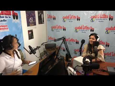 Entrevista Emisora:  @ciudadlatinafm.com