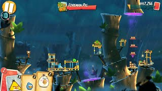 Angry Birds 2 gameplay level 43! Boss level! Super trick! One shot kill