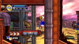 Sonic the Hedgehog 4: Episode 2 PS3 - [Part 3 ~ Oil Desert Zone + Boss 3: Egg Scrap Mech]