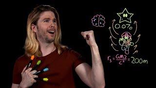 Super Mario's Black Hole Stars | Because Science Live!