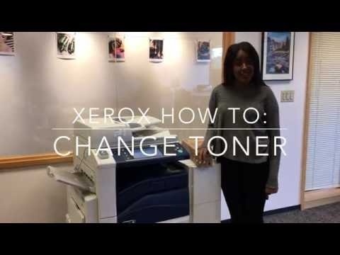 Xerox: Replacing Toner & Waste Toner Cartridges