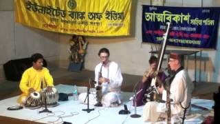 Saxophone Brothers + Sudhir Ghorai - Raga Bihag