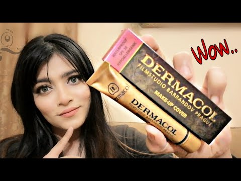 WORLD's MOST FULL COVERAGE FOUNDATION | DERMACOL MAKEUP COVER REVIEW & TRY TEST اردو / हिंदी