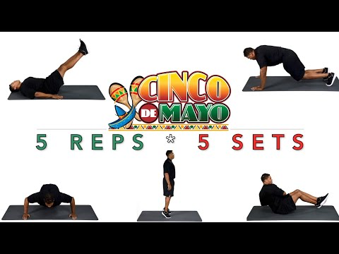 Cinco de mayo PE fitness