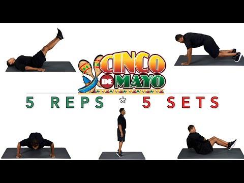 Cinco de mayo PE fitness