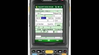 BASIS Mobile Warehouse & Inventory Management Demo Shipping Orders from BVE BarcodeApps