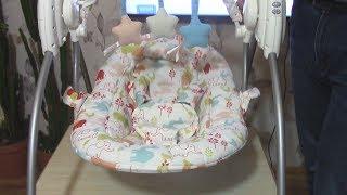 Обзор кресла-качалки Geoby для новорожденных / прокат.укр