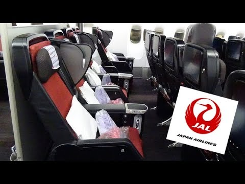 [English] Japan Airlines JL035|Premium Economy Class|Tokyo ︎ Singapore - YouTube
