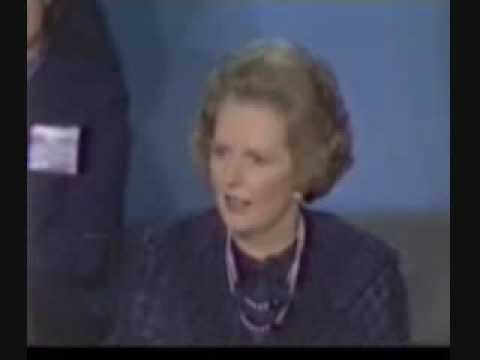 Thatcher:  There is no such thing as public money