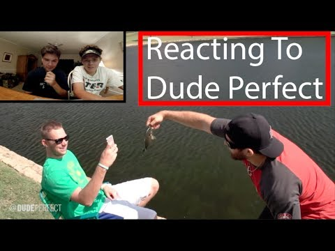 """TXMB Reacts To Dude Perfect's """"Fishing Stereotypes"""""""