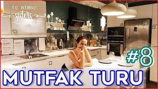 IKEA MUTFAK TURU #8 - 24 m2 MODERN MUTFAK & YEMEK ODASI & KİLER - İç Mimar Sisters