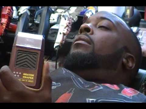 Gwhiz Demonstrates The Wahl 5 Star Shaver Shaper Youtube