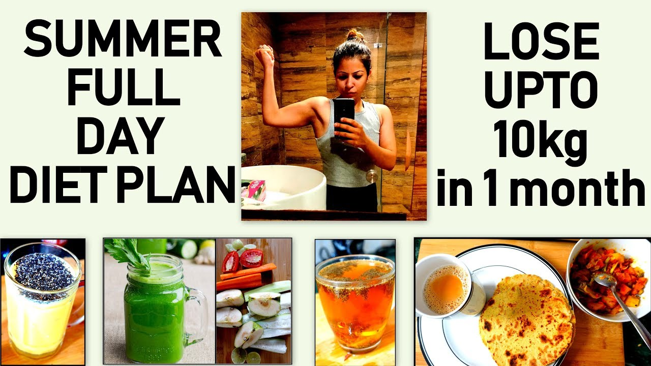 Summer Weight Loss Diet Plan | How To Lose Weight Fast 10KG in Summer | Fat to Fab Suman Sunshine